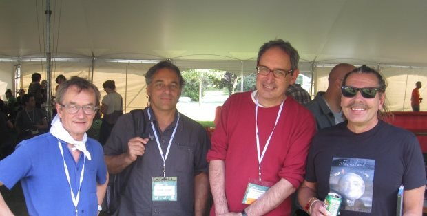 Georges Schwizgebel, Claude Cloutier, Gil Alkabetz and Matti Kutt. Talent with a capital T.