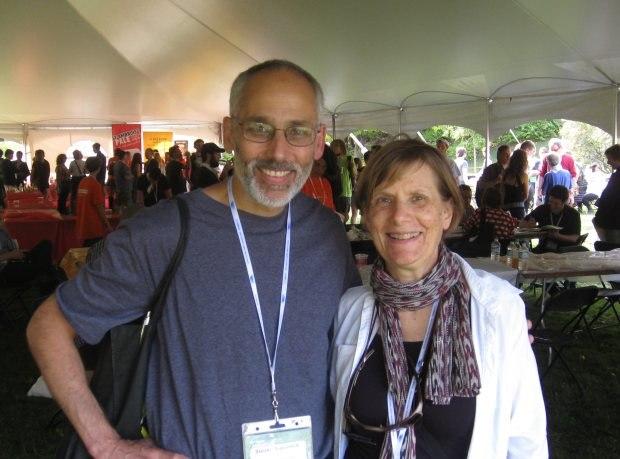 Steve Subotnick and Sharon Katz.