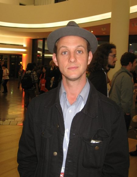 Juror and animation director Aaron Augenblick.