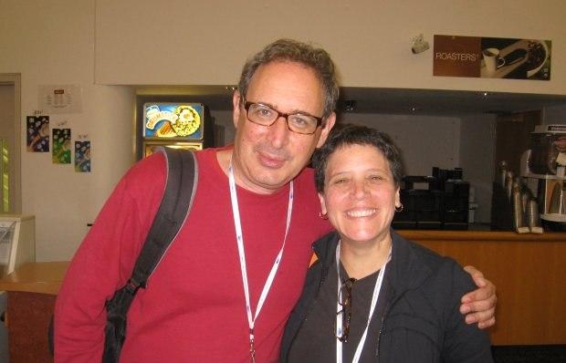 Animators Gil Alkabetz and Madi Pillar.