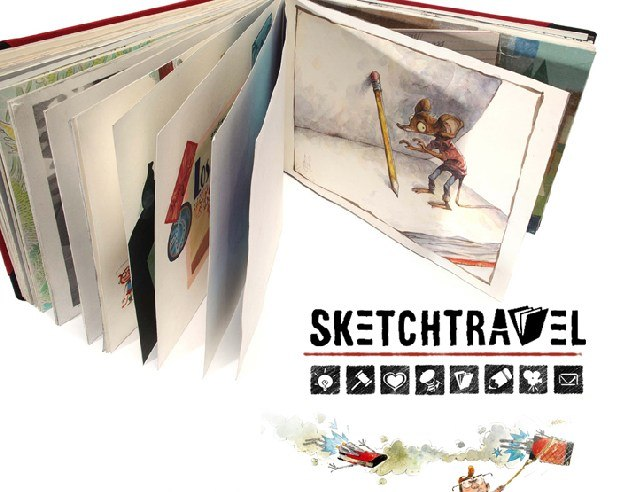 4 and 1/2 years in the making - the Sketchtravel charity auction project.