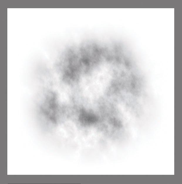 [Figure 15.17] Circular fractal pattern.