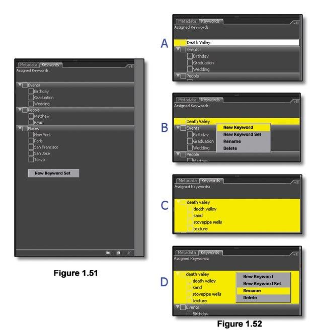 [Figure 1.51] Create a New Keyword Set.