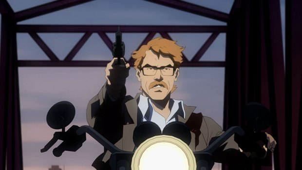 Gordon as a young lieutenant fights corruption throughout Gotham.