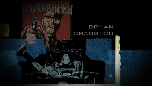 The film uses panels from the comic for its opening titles.
