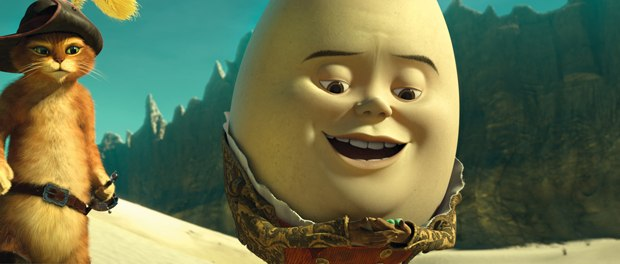Humpty Dumpty was a unique addition to the fractured fairy tale franchise.
