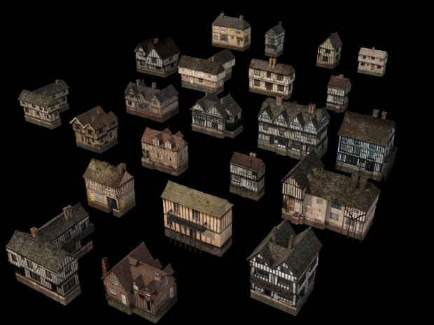 OGEL software created the 17th century buildings.