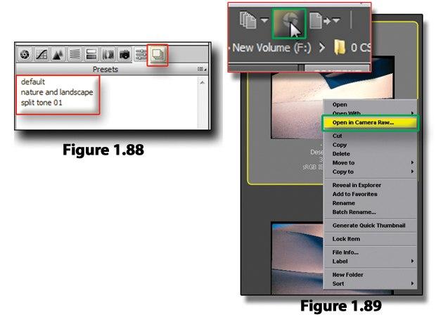 [Figure 1.88] Apply preset.