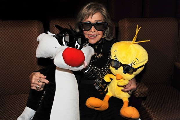 Voice legend June Foray returns in 3-D as Granny.