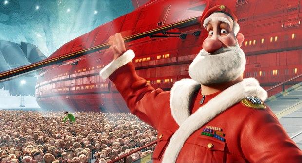 Santa gets a modern make-over.