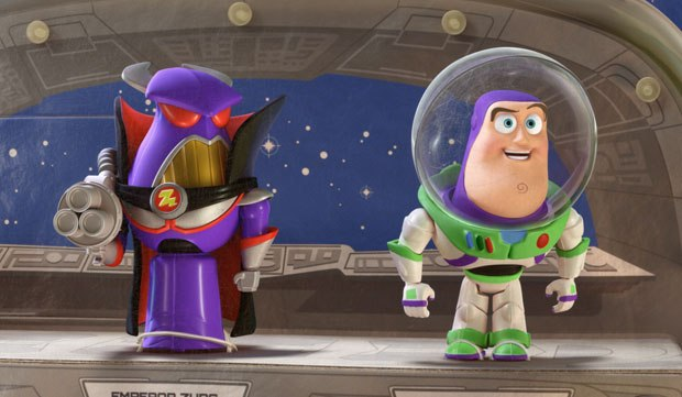 With the kids' meal versions of Buzz and Zurg, Pixar was able to rework their relationship.