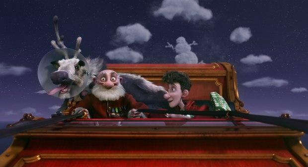 Aardman and Sony's Arthur Christmas tops Mark Simon's best of 2011 list.