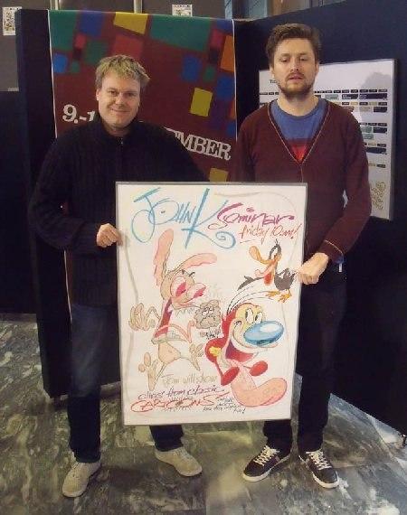 Festival director Trond Ola Mevassvik and coordinator Magnus Eide
