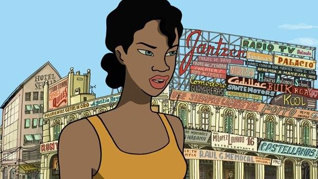 Rita in Havana Square.