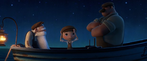 Hair grooming was tough, and the use of watercolor extended to the boat. Gibberish-speak was not easy to create and voice cast as well.