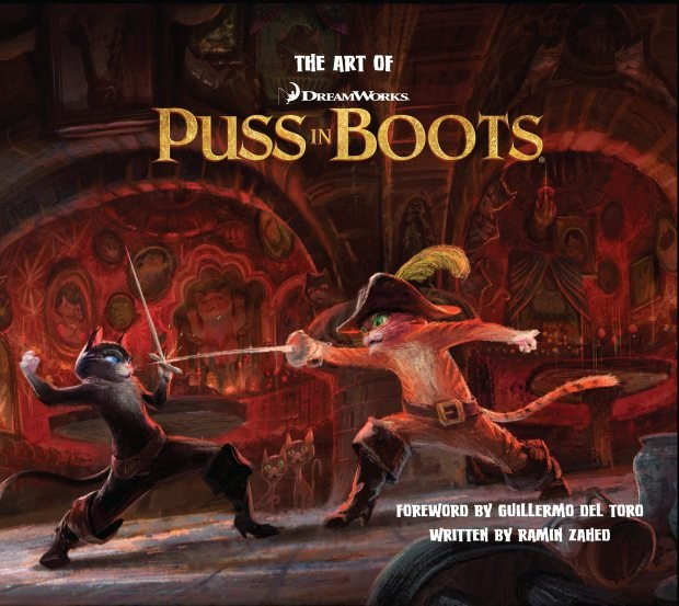 The Art of Puss In Boots. Images © 2011 Dreamworks Animation.