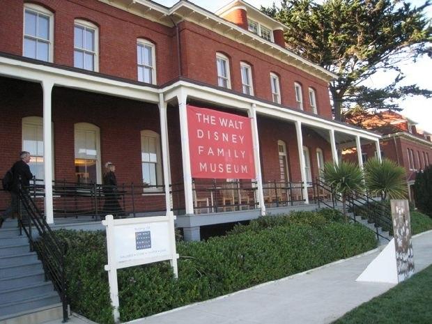 The Walt Disney Family Museum.