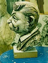 One of Mackinnon & Saunders' plasticine sculpts. Image courtesy of Barry Purves.