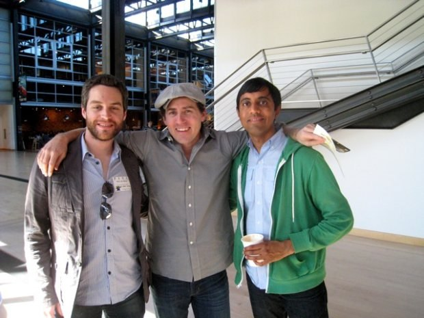 (From left to right) Patrick, Teddy Newton and Sanjay Patel.