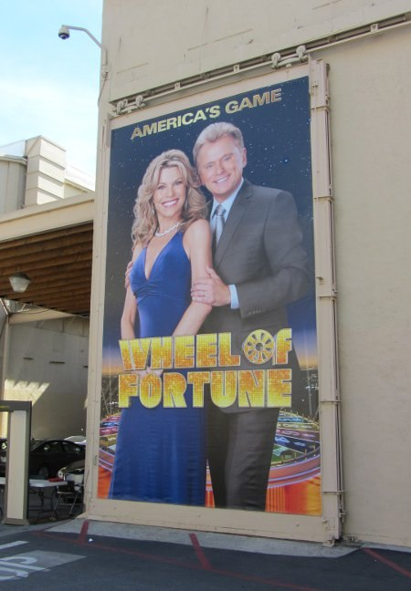 The studio home for Wheel of Fortune.