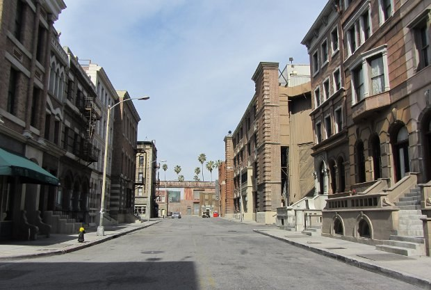 "Our tour continued onto the backlot. One of many ambiguously ""east coast"" city backdrops you've seen, but couldn't place precisely, on hundreds of films, TV shows and commercials."