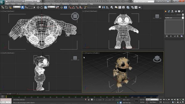 Animators can now convert 3ds Max CAT (Character Animation Toolkit) bipedal characters into characters that are compatible with the Autodesk HumanIK solver used in Maya 2013 software and MotionBuilder 2013 software in a single step. These portable characters enable animators to transfer existing character structure, definition, and animation between the software packages in order to take advantage of particular feature sets. Animation changes created in Maya or MotionBuilder can be updated back onto the original CAT character in 3ds Max, facilitating a round-trip workflow.