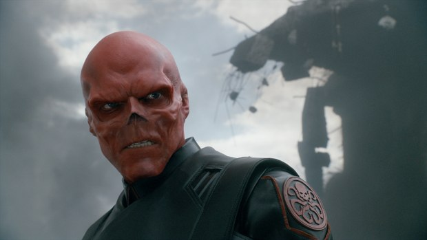 In Captain America, one particular digital manipulation challenge was Hugo Weaving's super Nazi, Red Skull, which was handled by Framestore and then completed by Lola.