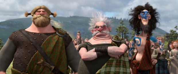 (L-R) Lord MacGuffin, Lord Dingwall and Lord Macintosh.