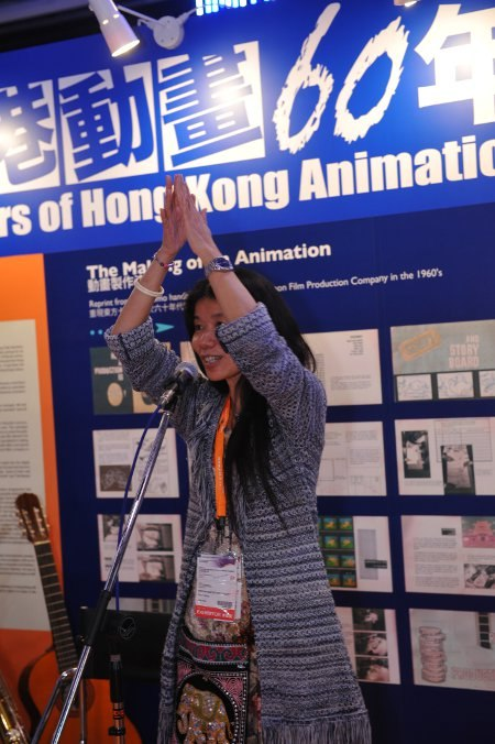 Event organizer Emily Wong.