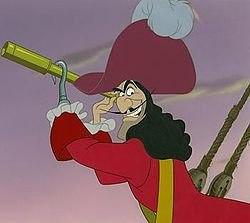 Captain Hook. Image © Walt Disney