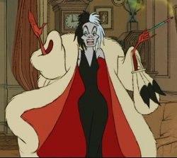 Cruella De Vil. Image © Walt Disney
