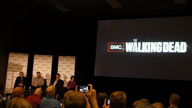 Figure 05, The Walking Dead panel. Be still my geeking heart.