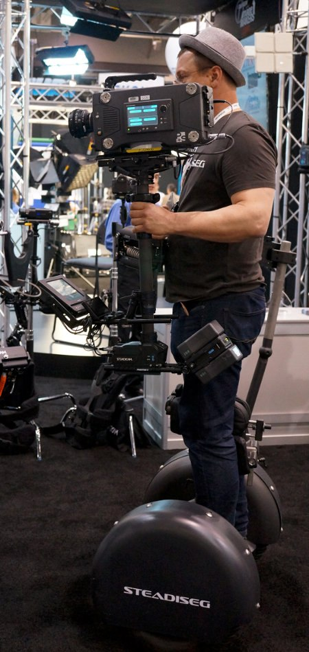 Figure 06. Segway with a Steadicam attachment. Too freaking cool.