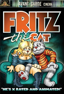 Fritz the Cat movie poster. Image credit: