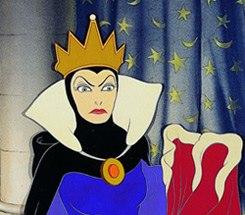 The Evil Queen. Image © Walt Disney
