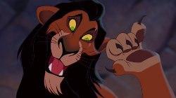 Scar. Image © Walt Disney Enterprises.