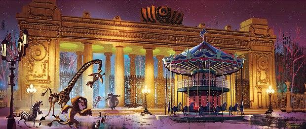 Gorky Park Gate. Artist/Animator: Sam Michlap.