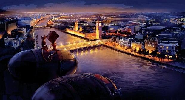 London Romance. Artist/Animator: Lindsey Olivares.