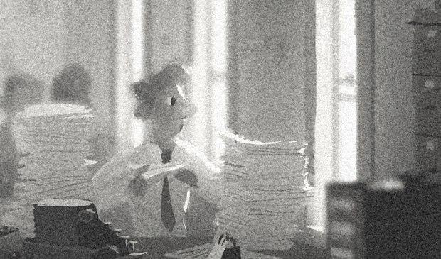 Paperman Girl