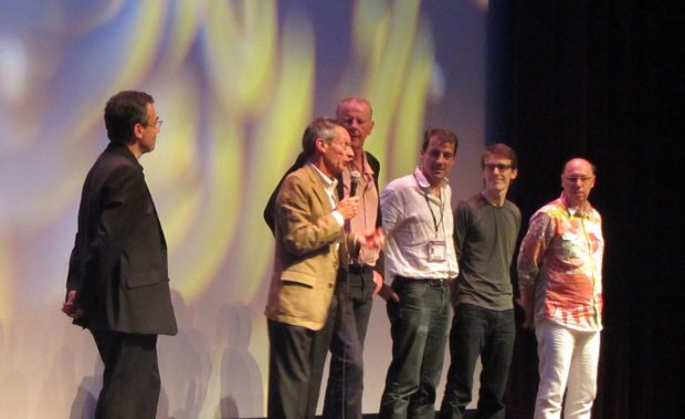 The creative team behind the animated feature The Suicide Shop, which premiered as well as the opening ceremonies.