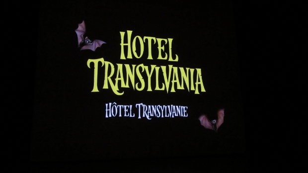Sony Pictures Animation presented a work in progress program for their next feature, Hotel Transylvania.