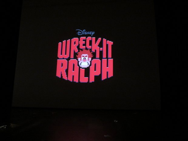 Disney presented some work in progress materials from Wreck-it Ralph, their next feature film.