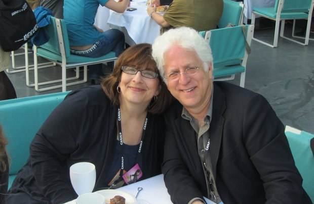 Ron with Sony's Jana Day.