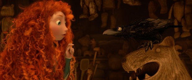 The most daunting task of all was perfecting the advanced simulation used on Merida's hair.