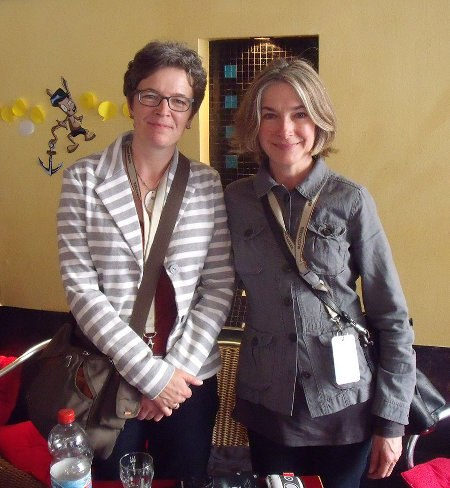 Canadian animators Wendy Tilby and Amanda Forbis