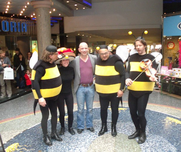 The Bee Band and the Slice of Bread with Strawberry Jam and Honey with creator Andreas Hykade after the afternoon screening