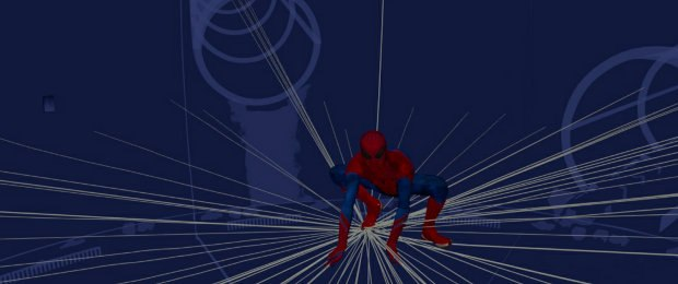In keeping with an organic look, Spidey is hand-crafted with all key-frame and no motion capture.