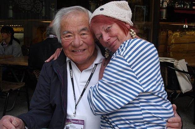 Jimmy Murakami and Nancy.
