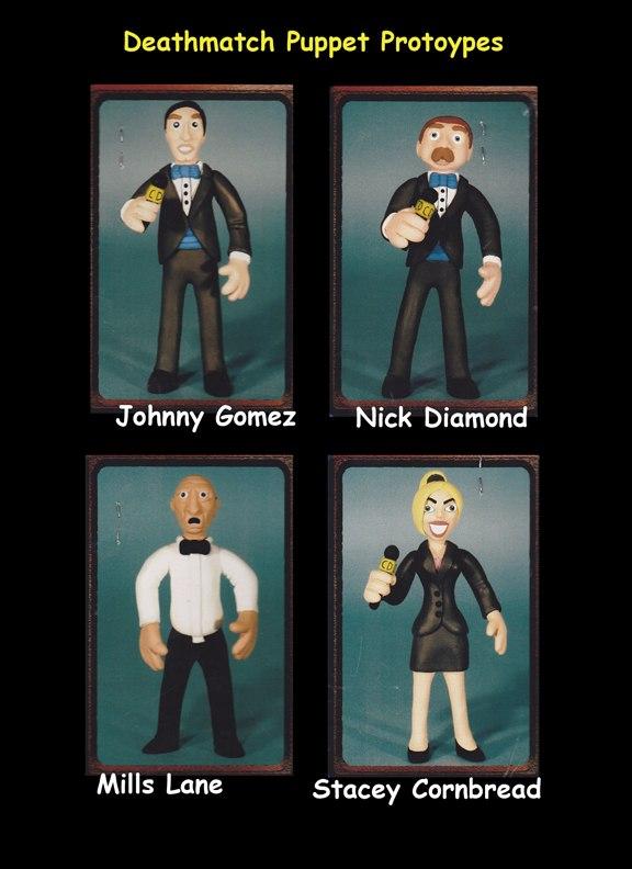 Celebrity Deathmatch puppet Prototypes
