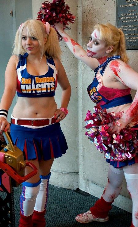 Bloody cheerleaders.